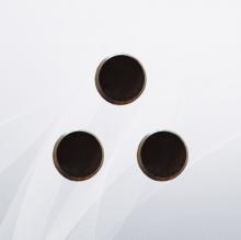 Заглушка стальная плоская с фаской